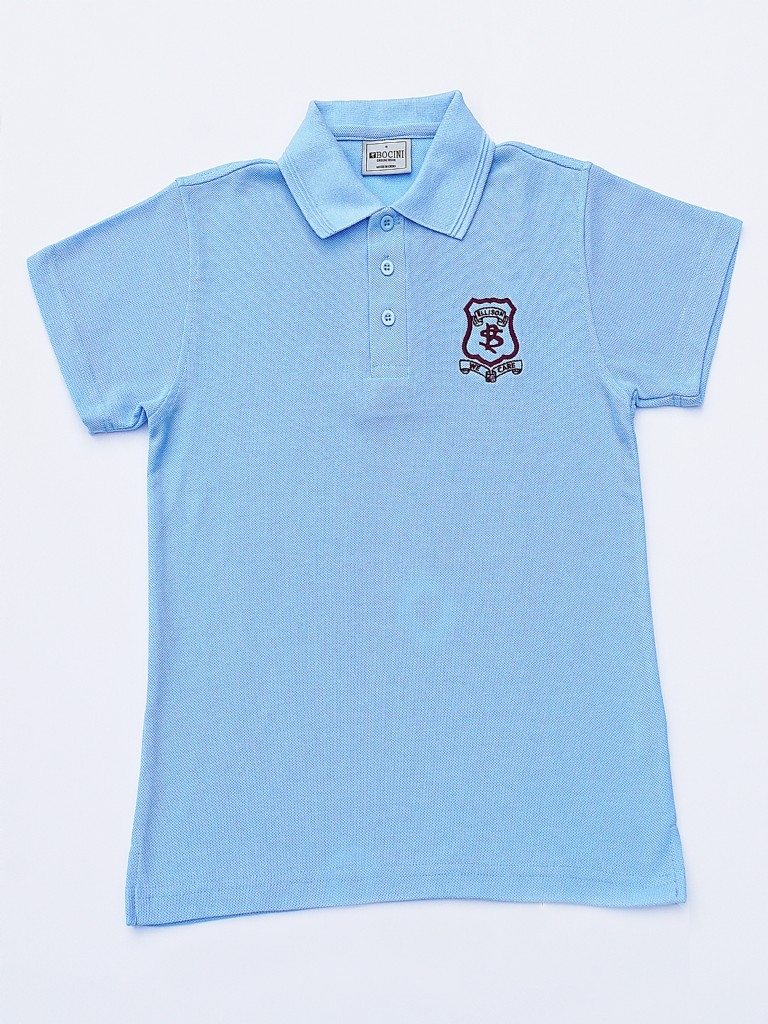 Short Sleeve Polo with emblem